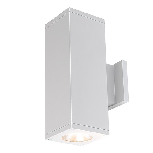 WAC Lighting Wac Lighting Cube Arch White LED Outdoor Wall Light DC-WD05-S827S-WT