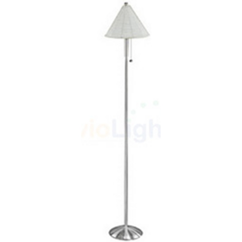 Lite Source Lighting Lite Source Lighting Starlight Floor Lamp with Cylindrical Shade LS-9443PS/SIL
