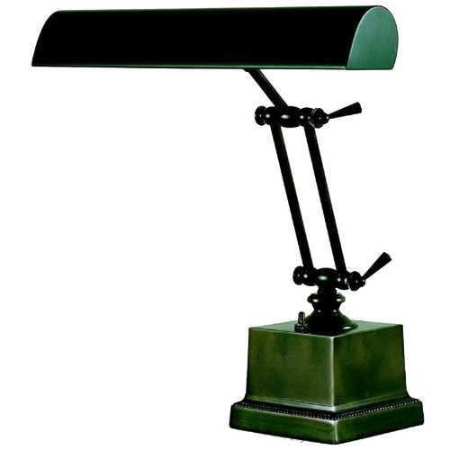 House of Troy Lighting Piano / Banker Lamp in Mahogany Bronze Finish P14-202-81