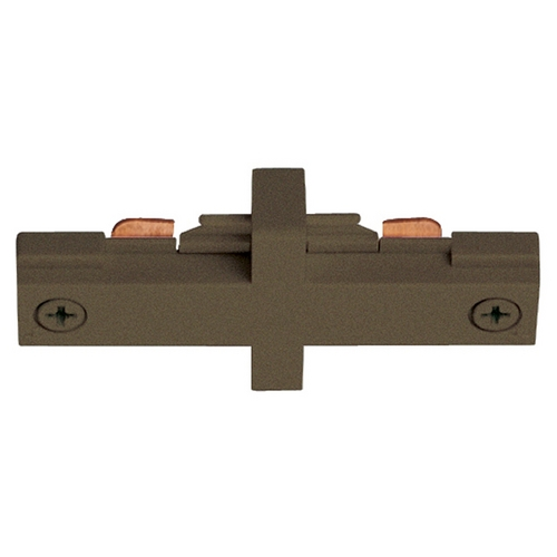 Juno Lighting Group Juno Trac-Lites Small Bronze Straight Connector  R23 BZ