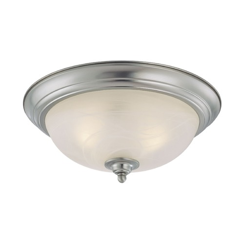 Jeremiah Lighting Jeremiah Satin Nickel Flushmount Light 20015-SN