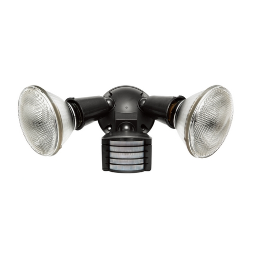 RAB Electric Lighting Motion-Activated Security Light in Bronze Finish - 300W LU300