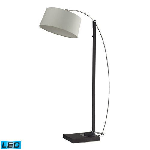 Dimond Lighting Dimond Lighting Dark Brown LED Floor Lamp with Drum Shade D2183-LED