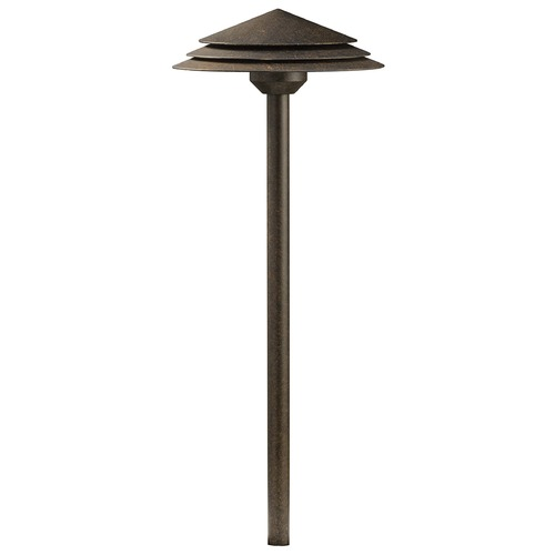 Kichler Lighting Kichler Lighting Crimson Wood LED Path Light 16124CW27