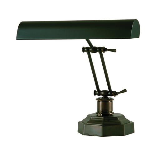 House of Troy Lighting Piano / Banker Lamp in Mahogany Bronze Finish P14-203-81