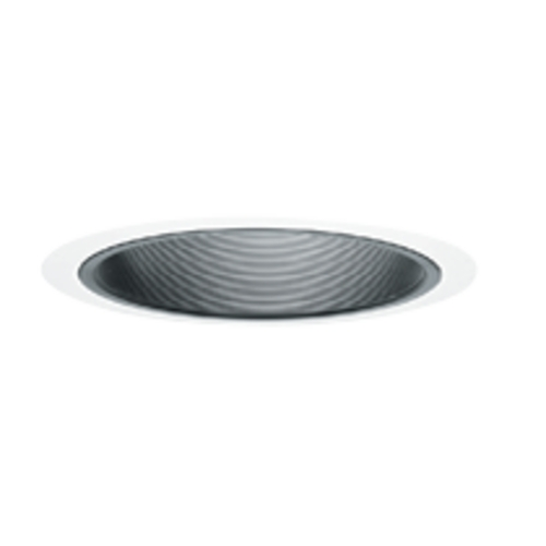 Juno Lighting Group Straight Baffle for 6-inch Recessed Housings 25B-WH