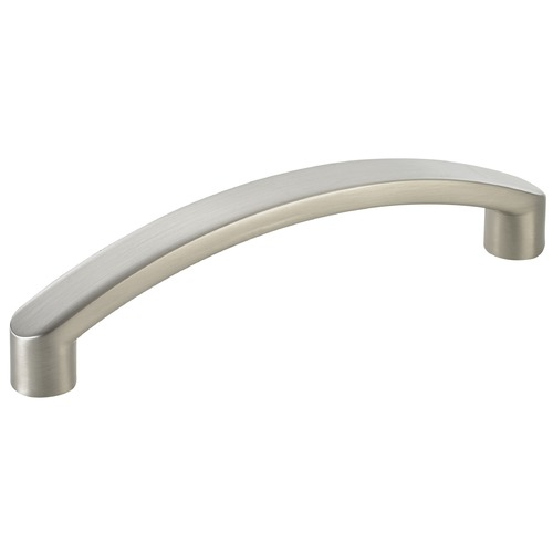 Seattle Hardware Co Satin Nickel Cabinet Pull - Case Pack of 10 - 3-3/4-inch Center to Center HW16-414-09 *10 PACK* KIT