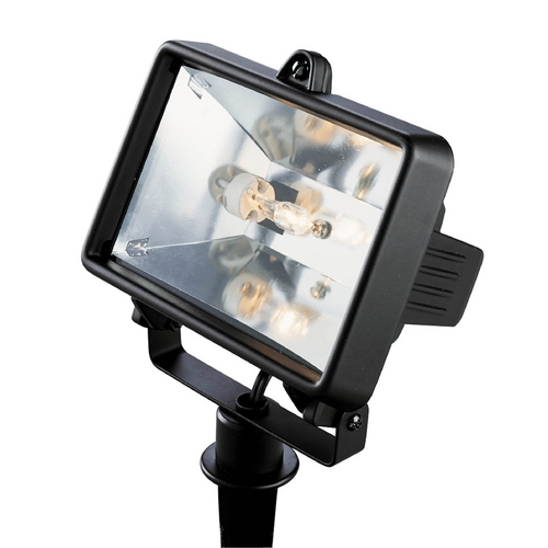 Progress Lighting Progress Flood / Spot Light with Clear Glass in Black Finish P5239-31WB