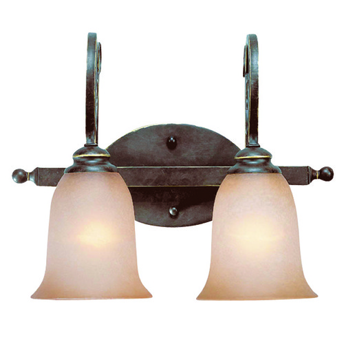 Jeremiah Lighting Jeremiah Preston Place Augustine Bathroom Light 21702-AGT
