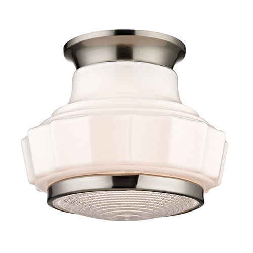 Hudson Valley Lighting Hudson Valley Lighting Odessa Satin Nickel Flushmount Light 3809F-SN