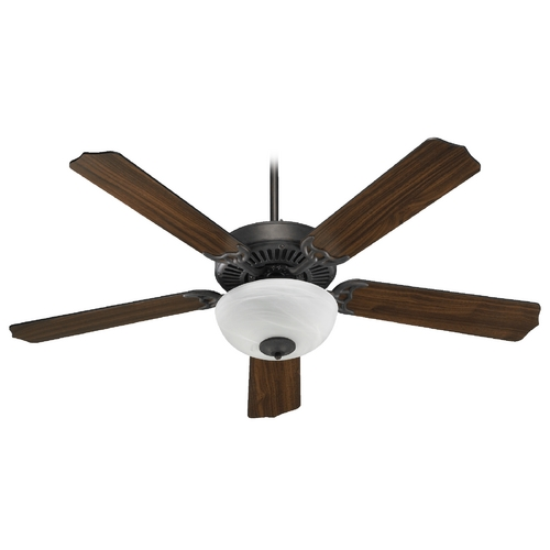 Quorum Lighting Quorum Lighting Capri Iii Toasted Sienna Ceiling Fan with Light 77525-9244