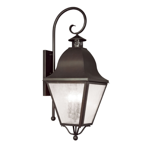 Livex Lighting Livex Lighting Amwell Bronze Outdoor Wall Light 2558-07