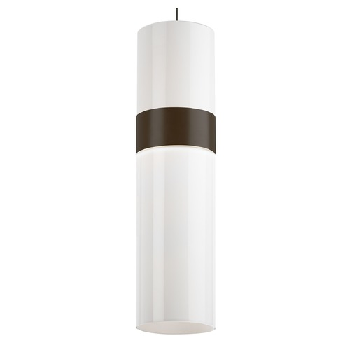 Tech Lighting Bronze LED Pendant Light by Tech Lighting 700MPMANWHWHZZ-LED