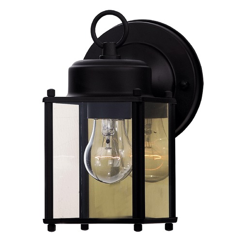 Savoy House Savoy House Black Outdoor Wall Light 07047-BLK