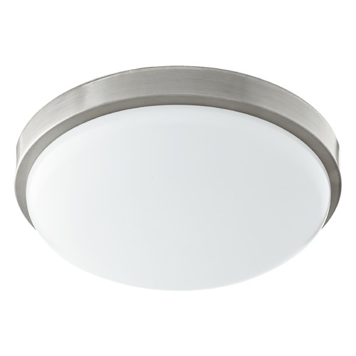 Quorum Lighting Quorum Lighting Satin Nickel LED Flushmount Light 902-11-65