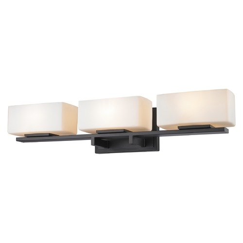 Z-Lite Z-Lite Kaleb Bronze Bathroom Light 3029-3V-BRZ
