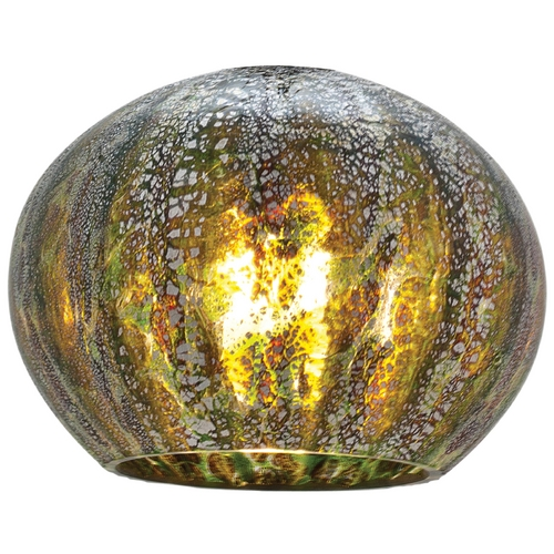 Access Lighting Green Bowl / Dome Art Glass Shade 980OPR-GRO