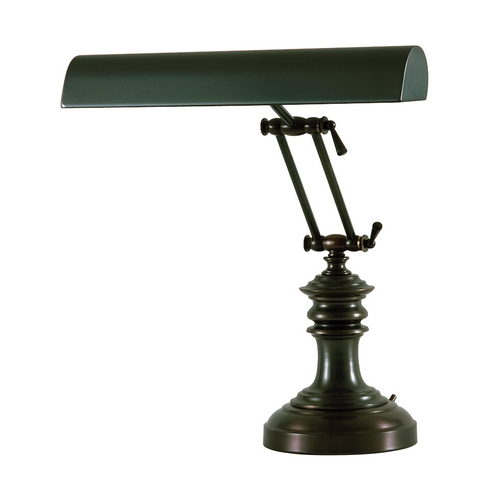 House of Troy Lighting Piano / Banker Lamp in Mahogany Bronze Finish P14-204-81