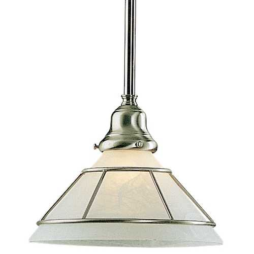 Dolan Designs Lighting Mini-Pendant with Alabaster Glass 621-09