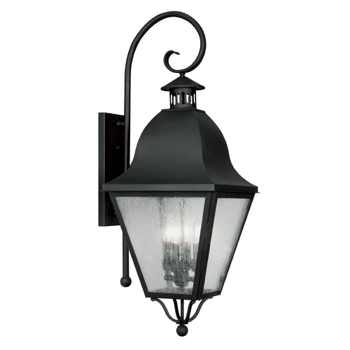 Livex Lighting Livex Lighting Amwell Black Outdoor Wall Light 2558-04