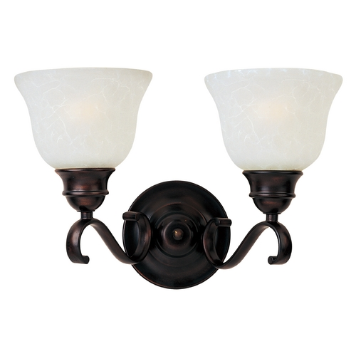 Maxim Lighting Maxim Lighting Linda Ee Oil Rubbed Bronze Bathroom Light 85808ICOI