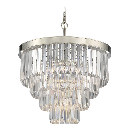 Savoy House Savoy House Lighting Tierney Polished Nickel Pendant Light 1-9800-6-109