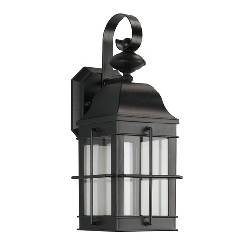 Sea Gull Lighting Sea Gull LED Wall Lanterns Black LED Outdoor Wall Light 8505891S-12