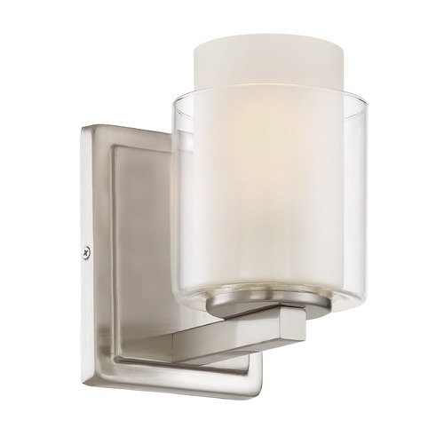 Lite Source Lighting Lite Source Polished Steel Sconce LS-16321
