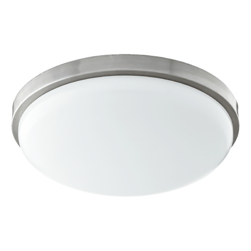 Quorum Lighting Quorum Lighting Satin Nickel LED Flushmount Light 902-15-65