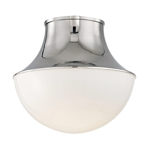 Hudson Valley Lighting Hudson Valley Lighting Lettie Polished Nickel LED Flushmount Light 9415-PN