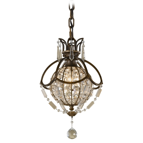 Feiss Lighting Mini-Pendant Light P1178OBZ/BRB