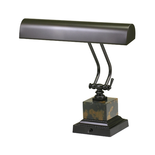 House of Troy Lighting Piano / Banker Lamp in Mahogany Bronze Finish P14-280