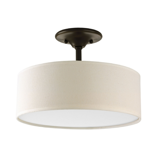 Progress Lighting Progress Semi-Flushmount Lights in Antique Bronze Finish P3939-20