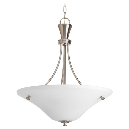 Progress Lighting Progress Lighting Cantata Brushed Nickel Pendant Light P3814-09