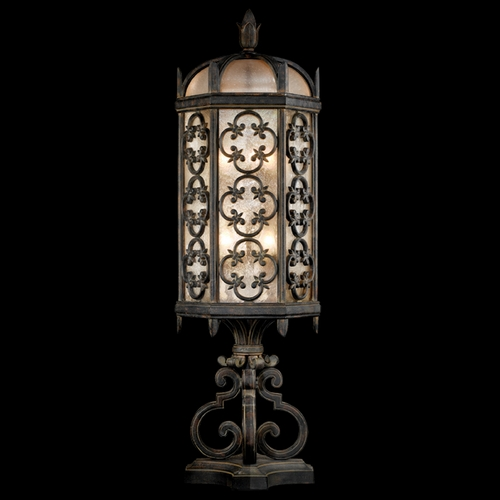 Fine Art Lamps Fine Art Lamps Costa Del Sol Marbella Wrought Iron Post Lighting 324980ST