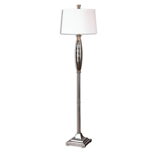 Uttermost Lighting Uttermost Tanaro Grooved Glass Floor Lamp 28257