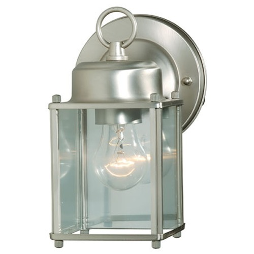 Savoy House Savoy House Satin Nickel Outdoor Wall Light 07047-SN