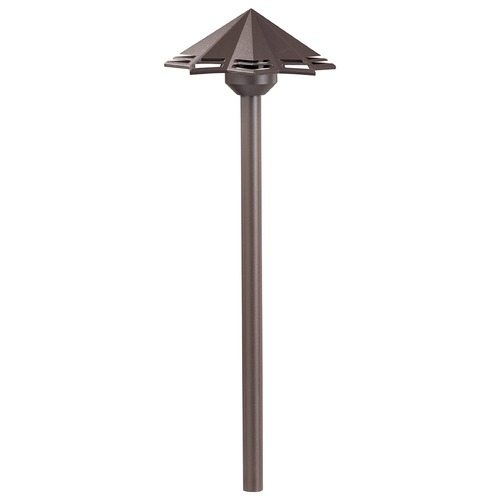 Kichler Lighting Kichler Lighting Textured Architectural Bronze LED Path Light 16123AZT30