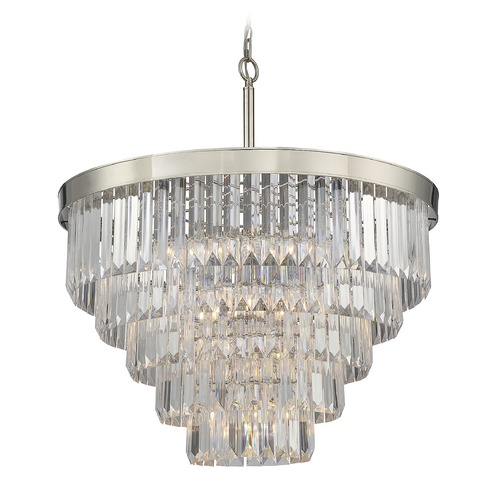 Savoy House Savoy House Lighting Tierney Polished Nickel Pendant Light 1-9802-9-109