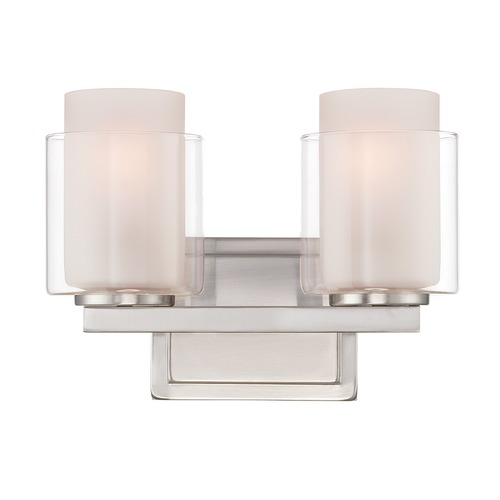 Lite Source Lighting Lite Source Polished Steel Bathroom Light LS-16322