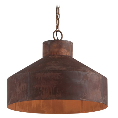 Troy Lighting Troy Lighting Rise & Shine Rust Patina Pendant Light with Bowl / Dome Shade F5264