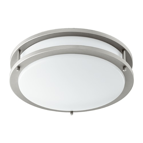 Quorum Lighting Quorum Lighting Satin Nickel LED Flushmount Light 903-12-65