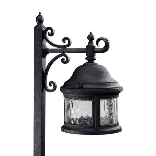 Progress Lighting Progress Path Light with Clear Glass in Black Finish P5250-31