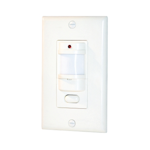 RAB Electric Lighting Vacancy and Occupancy Sensor in White Finish - 1000W LOS1000W/120