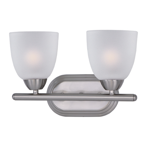 Maxim Lighting Maxim Lighting Axis Satin Nickel Bathroom Light 11312FTSN