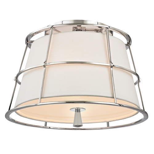 Hudson Valley Lighting Hudson Valley Lighting Savona Polished Nickel Semi-Flushmount Light 9814-PN