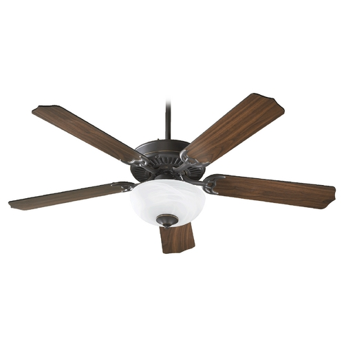 Quorum Lighting Quorum Lighting Capri Iii Old World Ceiling Fan with Light 77525-9295