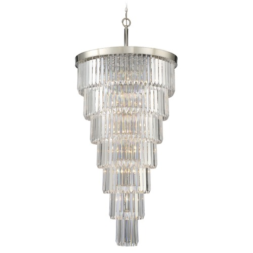 Savoy House Savoy House Lighting Tierney Polished Nickel Pendant Light 1-9803-19-109