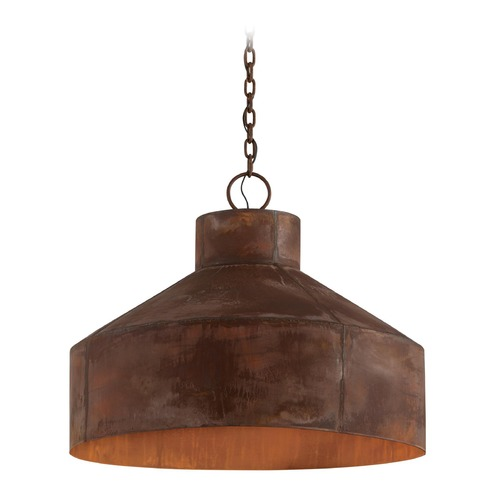 Troy Lighting Troy Lighting Rise & Shine Rust Patina Pendant Light with Bowl / Dome Shade F5265