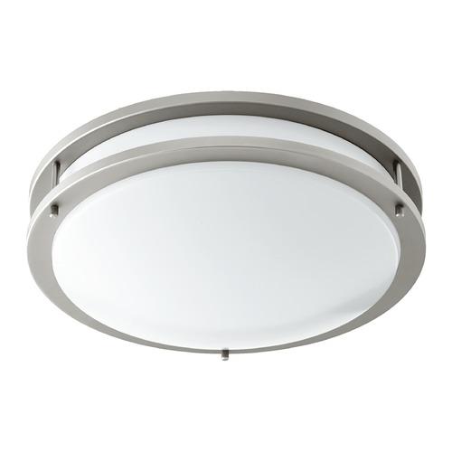 Quorum Lighting Quorum Lighting Satin Nickel LED Flushmount Light 903-15-65
